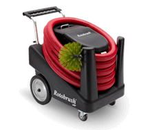 Rotobrush machine
